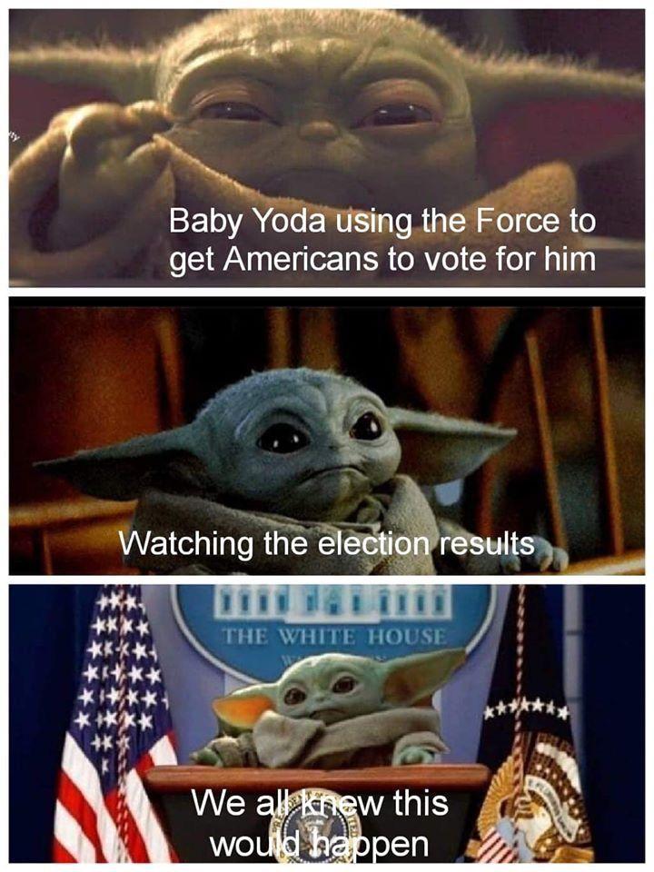 Pin By Lucinda Greenway On My Funnies Star Wars Memes Yoda Funny Star Wars Humor