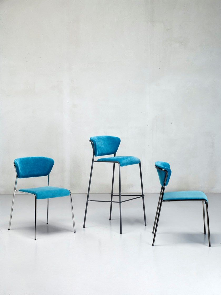 Lisa Fabric Chair By Scab Design Design Marcello Ziliani With