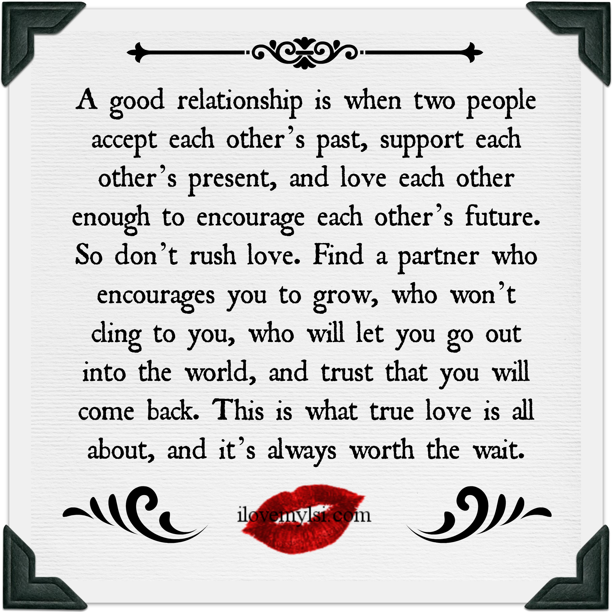A good relationship Relationship Trust QuotesGood