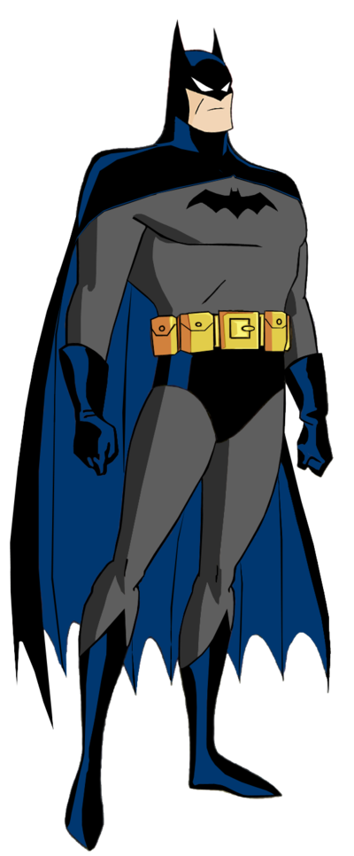 Batman the animated series batman 39 s first batsuit by - Batman cartoon images ...