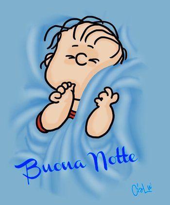 Buona notte buona notte buongiorno pinterest snoopy for Buonanotte cartoni