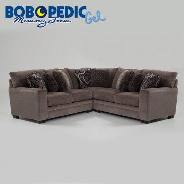 Luxe 3 Piece Sectional Bobs Com Bobs Furniture Living Room Luxe Living Room Living Room Sectional