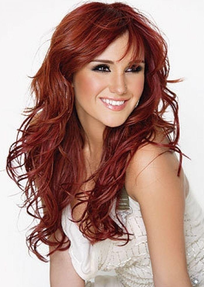 Dark Auburn Copper Neutral Bright Red Hair Color Your