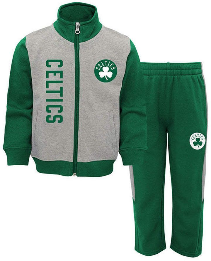 NBA by Outerstuff NBA Toddler On the Line Jacket /& Pants Fleece Set