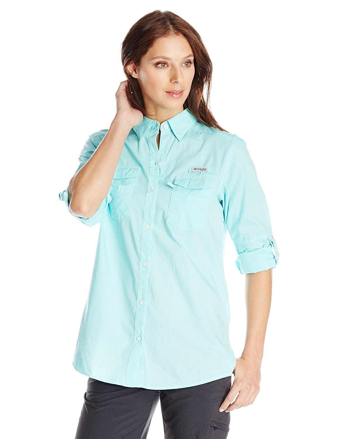 27c82036fa3 Columbia Sportswear Women's Bonehead II Roll Tab-Sleeve Shirt -- This is an  Amazon Affiliate link. Read more at the image link.