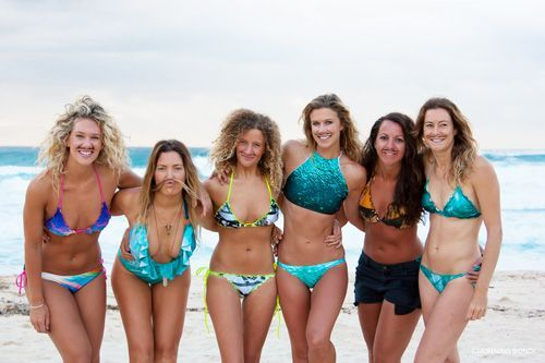 Morning Mo Sistas Bondi Beach Girls Go Surfing For Movember