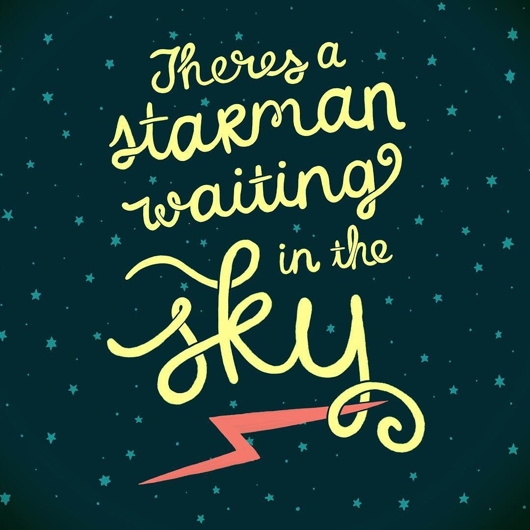Image result for there's a starman