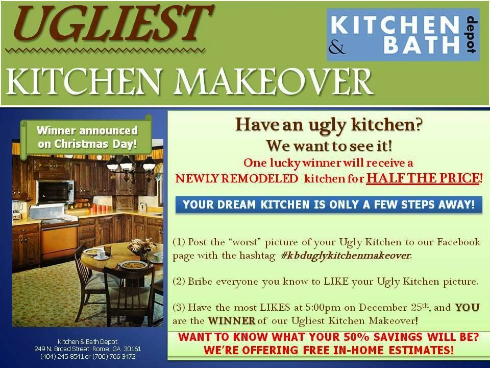 Kitchen & Bath Depot is holding an Ugliest Kitchen Makeover contest ...