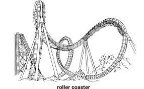 Image Result For Roller Coaster Illustration Parque De Atracciones Dibujos Parques