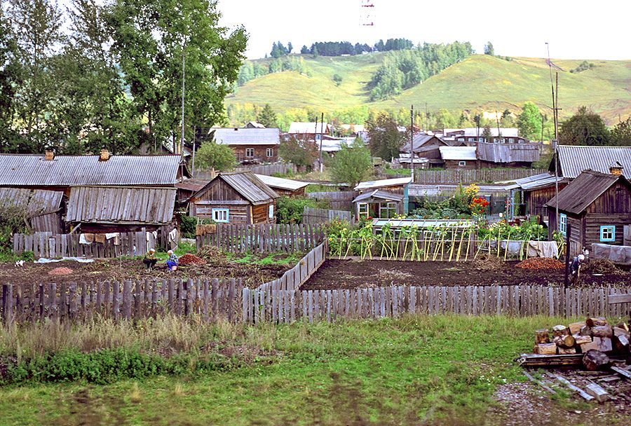 Image result for siberian village images