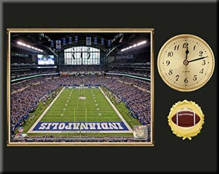 Indianapolis Colts Team Stadium Photo Inserted In A Gold Slide In ...