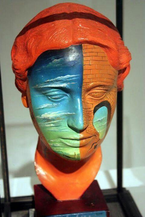 Salvador Dali - Portrait of Joella Lloyd 1934 with Man Ray