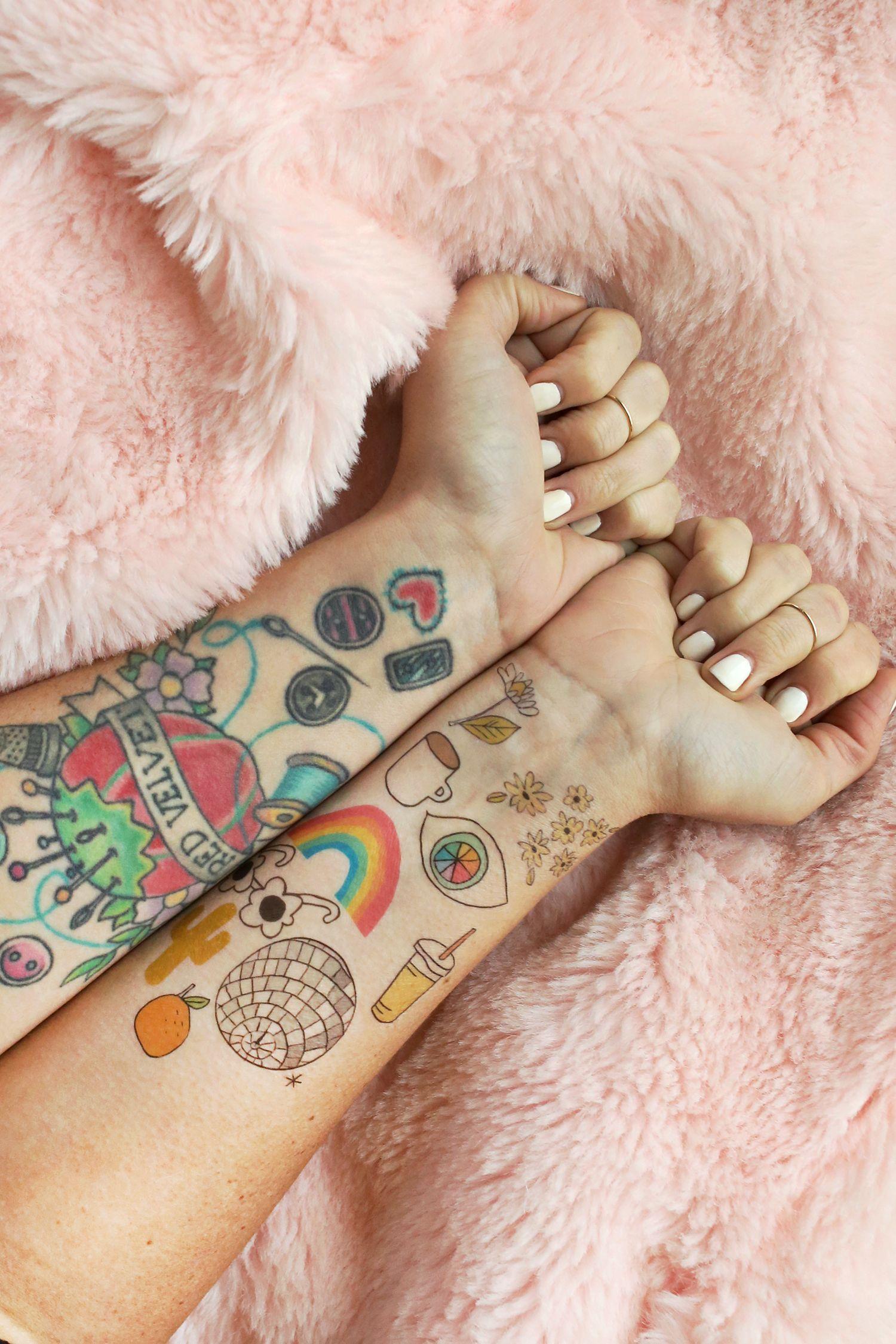 How to Make Temporary Tattoos | To make | Make temporary tattoo ...