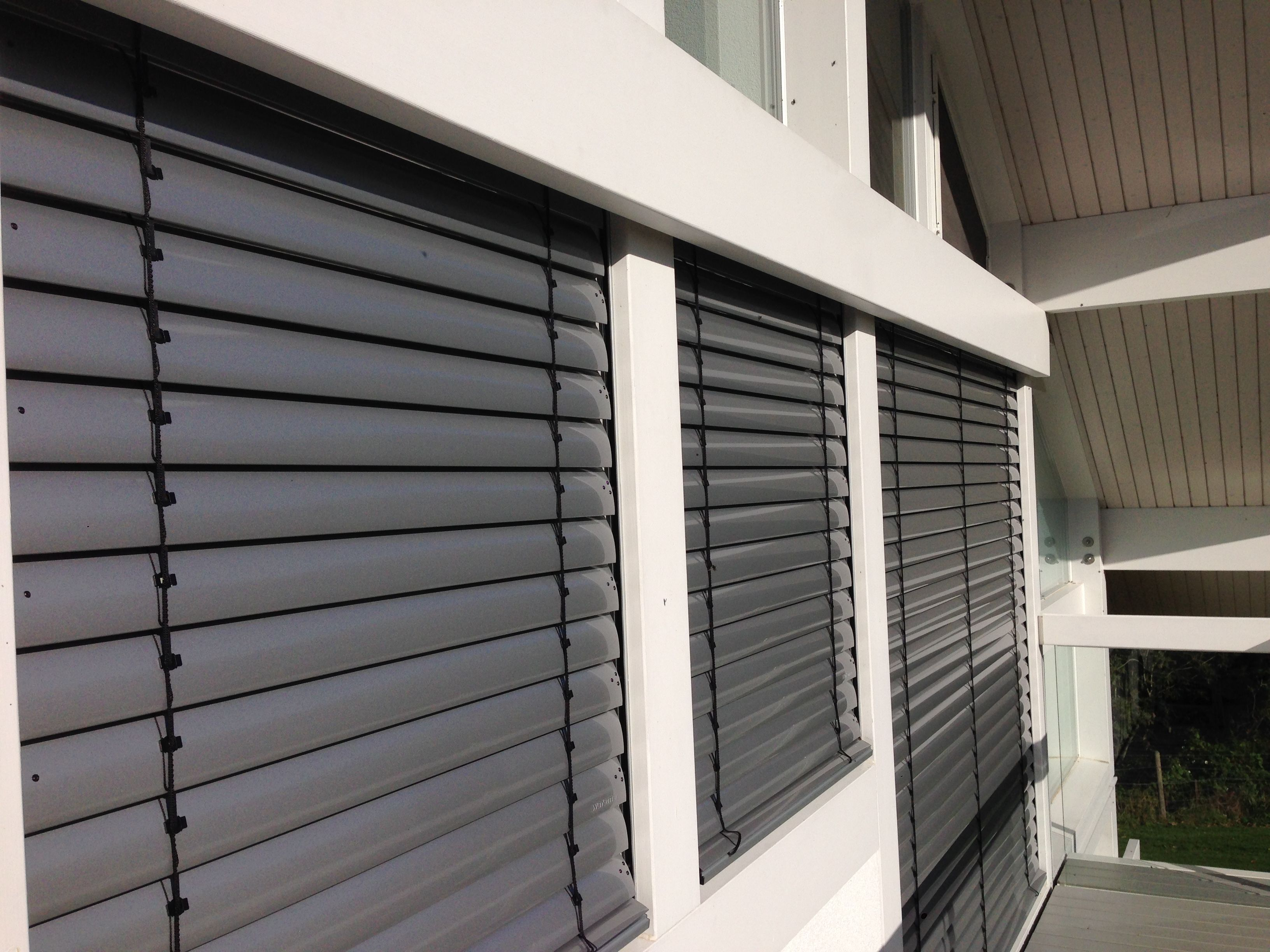 External Venetian Blinds Fitted To Huf Haus In Wiltshire