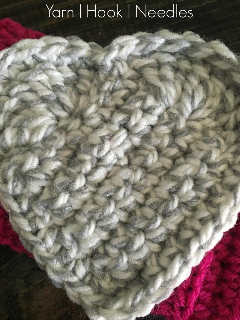 Valentine\'s Crochet Ribbed Ear Warmer with FREE PAttern! - YHN | Tus ...