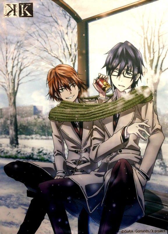 Yata Misaki Fushimi Saruhiko K Project Manga K Project