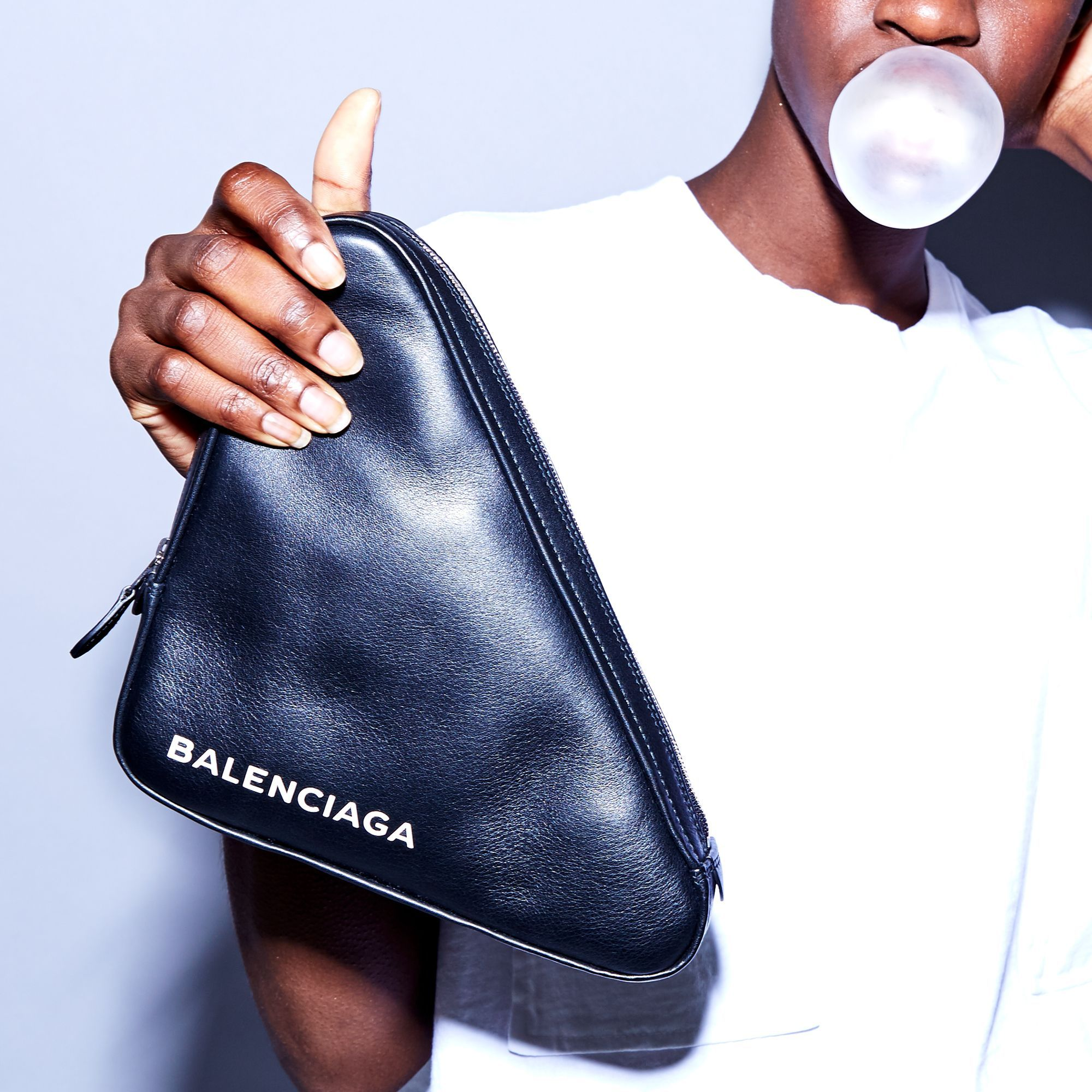 9b4f114caaf5 Balenciaga Triangle Pouch Triangle Bag
