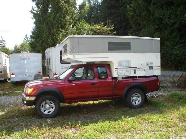 1999 Phoenix Pop Up Camper Rv Motorhomes Pickup Camper Toyota