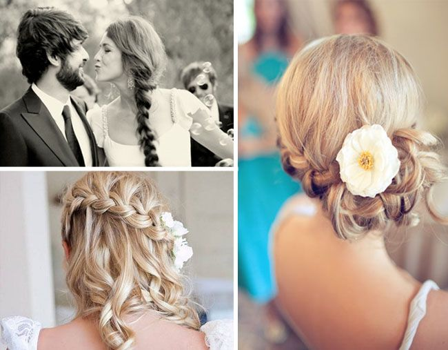 Braids For Your Wedding Hair Or Wedding Decor Beauty Wedding