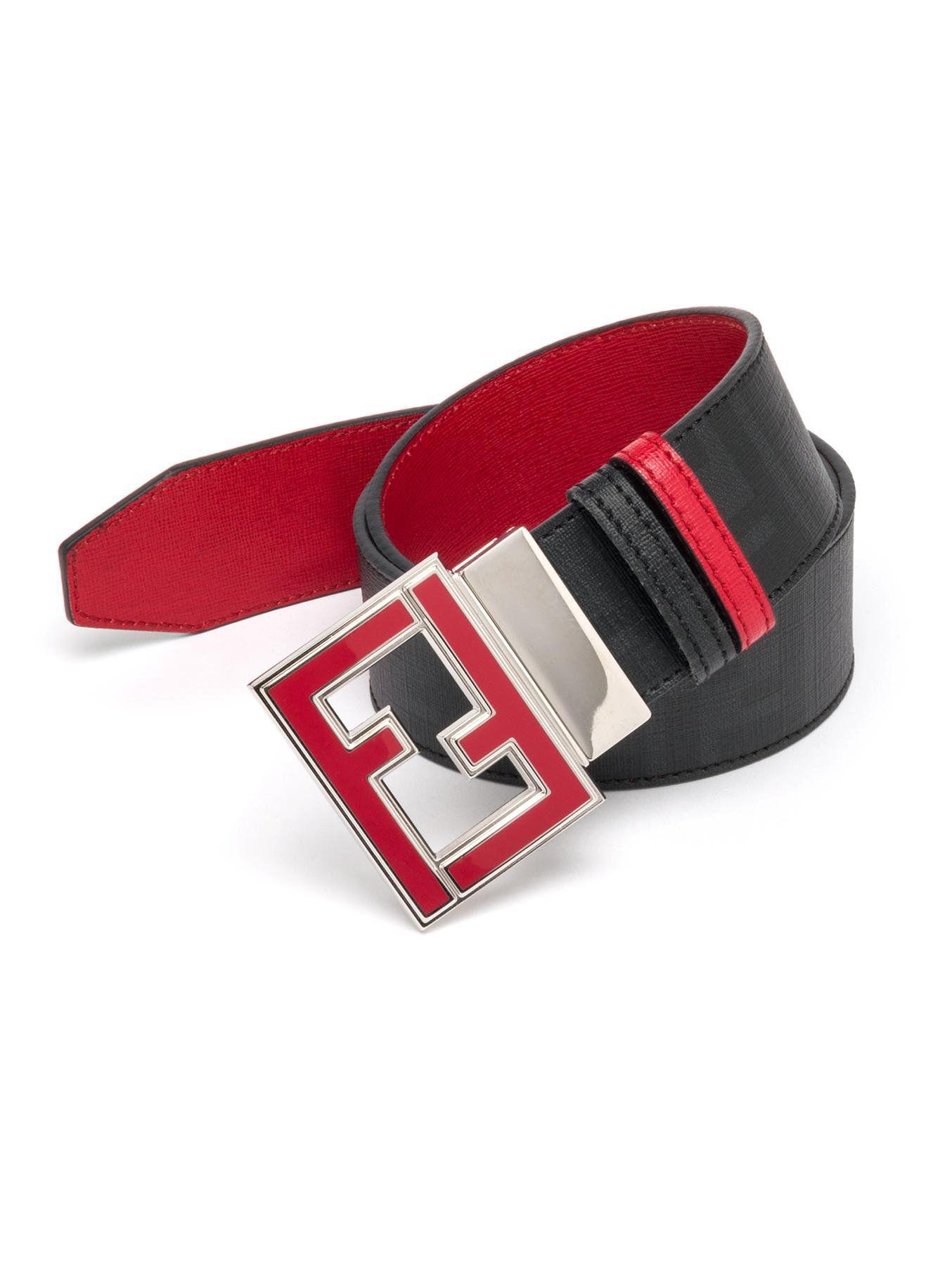 d71f097556 belts on   fashion trends   Fendi belt, Belt, Reversible belt