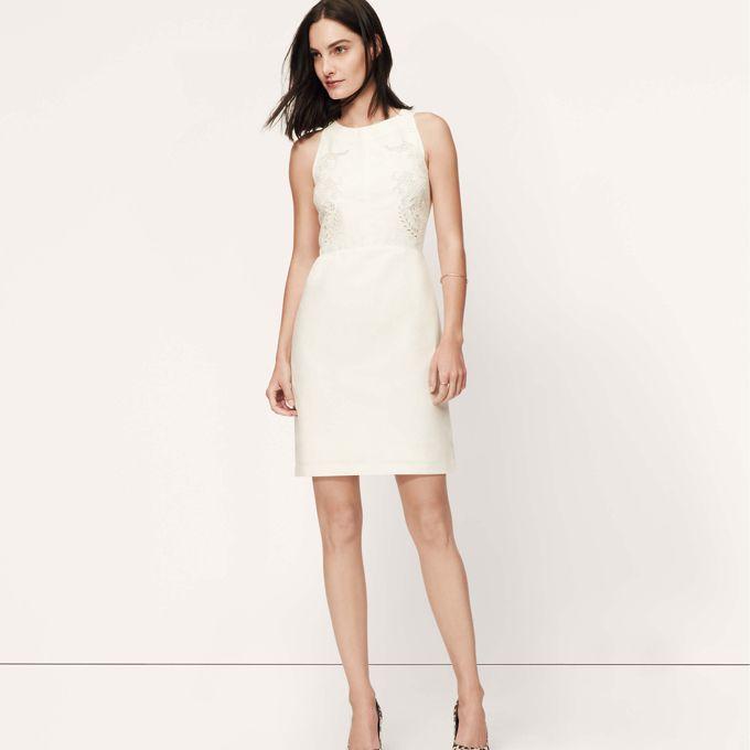 loft dresses. Embroidered Linen Cotton Dress, $89.50, LOFT See More High Loft Dresses S