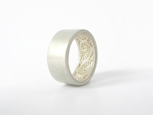 Filigree ring by susanne matsche | Jewelry | Pinterest