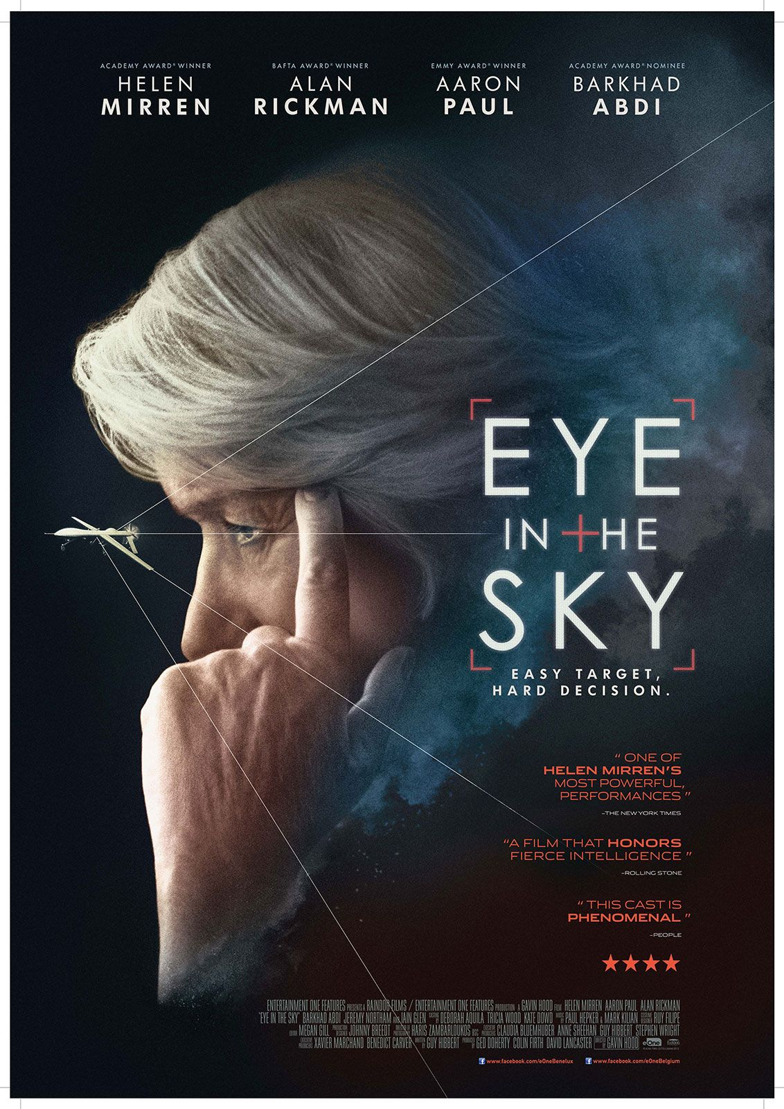 Eye In The Sky 2015 Helen Mirren Film Filmposters
