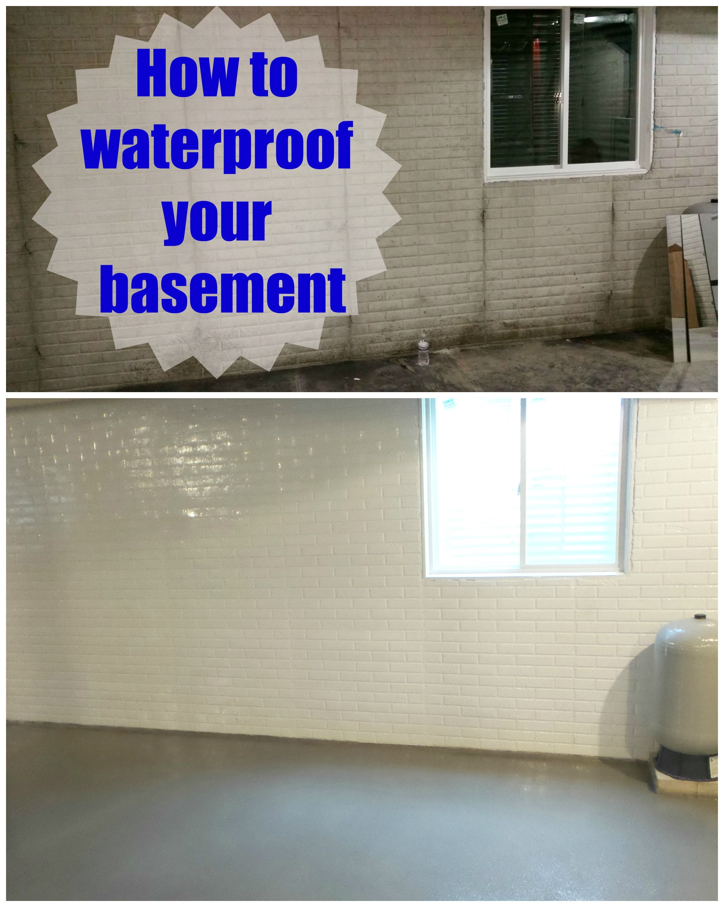 Do It Yourself Basement Waterproofing Basement Makeover