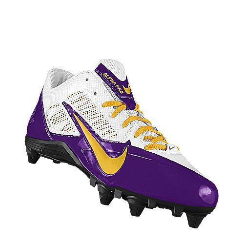 I designed this at NIKEiD. I customized this using the school colors. Football  CleatsFootball GearFootball ...