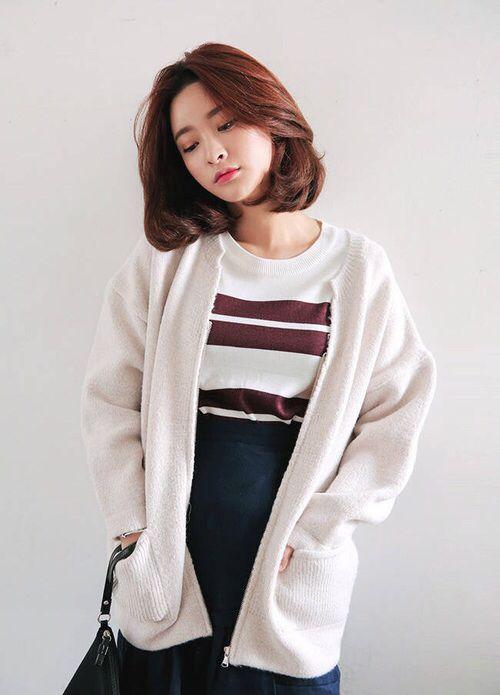 Http Weheartit Com Entry 241396040 Rambut Pendek Korea Gaya Rambut Pendek Anak Perempuan Rambut Tipis