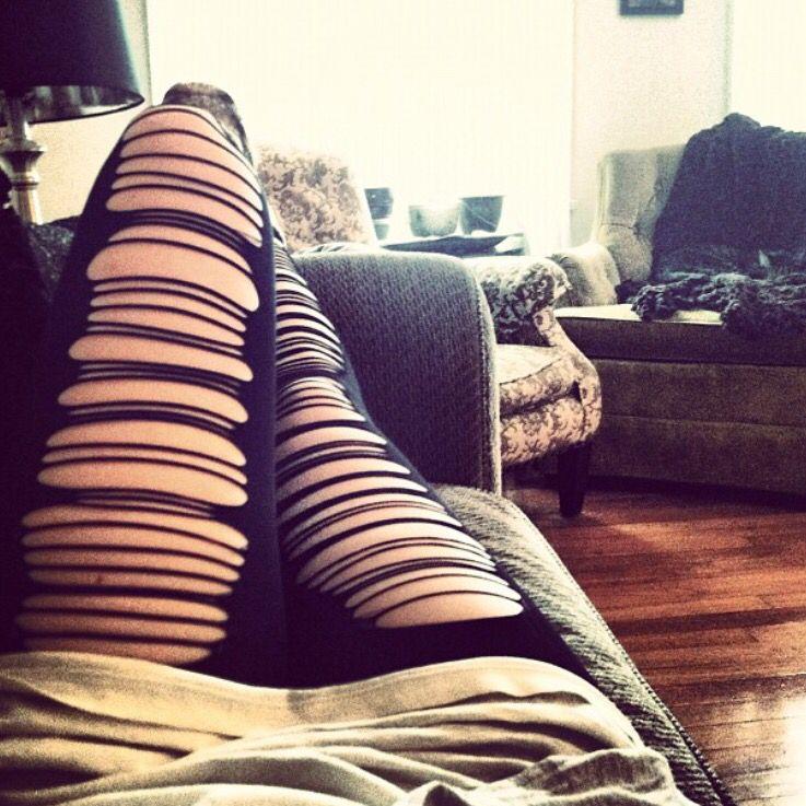Ripped Leggings