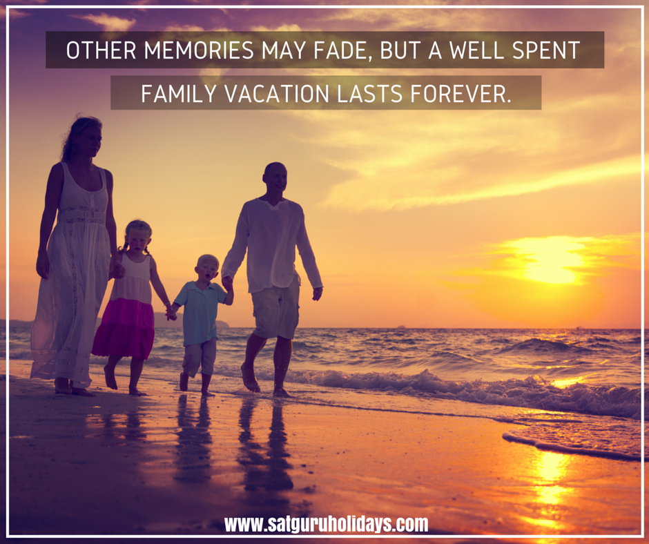 Quotes About Vacation With Family: Other #memories May Fade, But A Well Spent Family