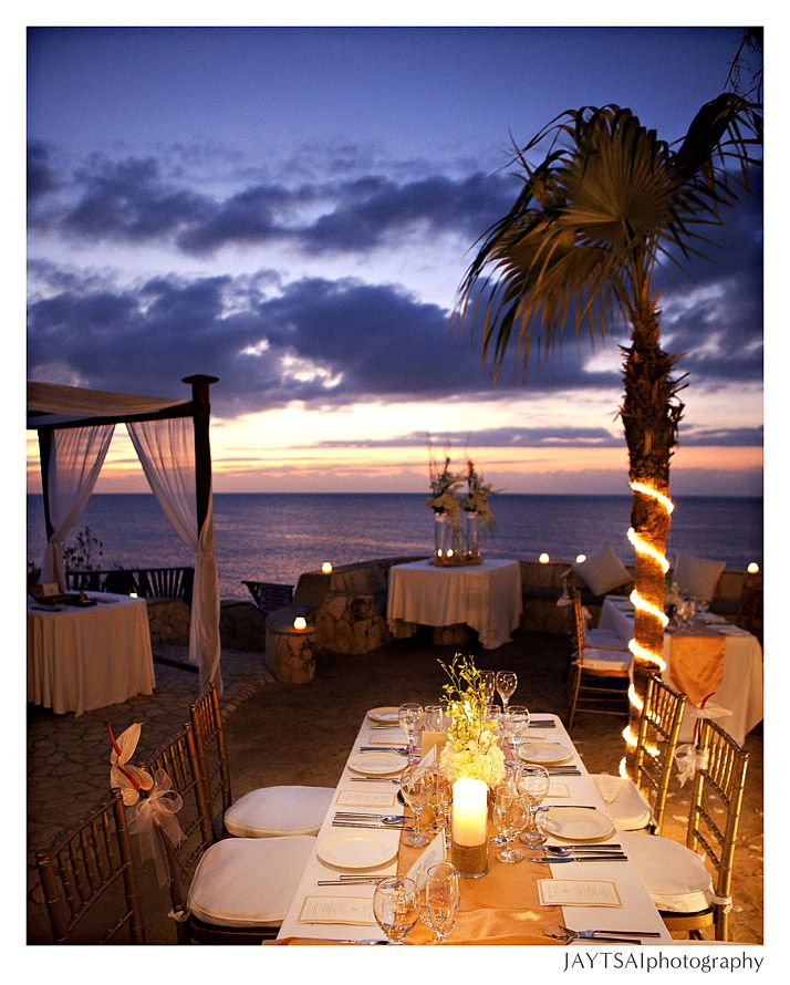 A stunning sunset wedding at The Caves in Negril, Jamaica ... - photo#37
