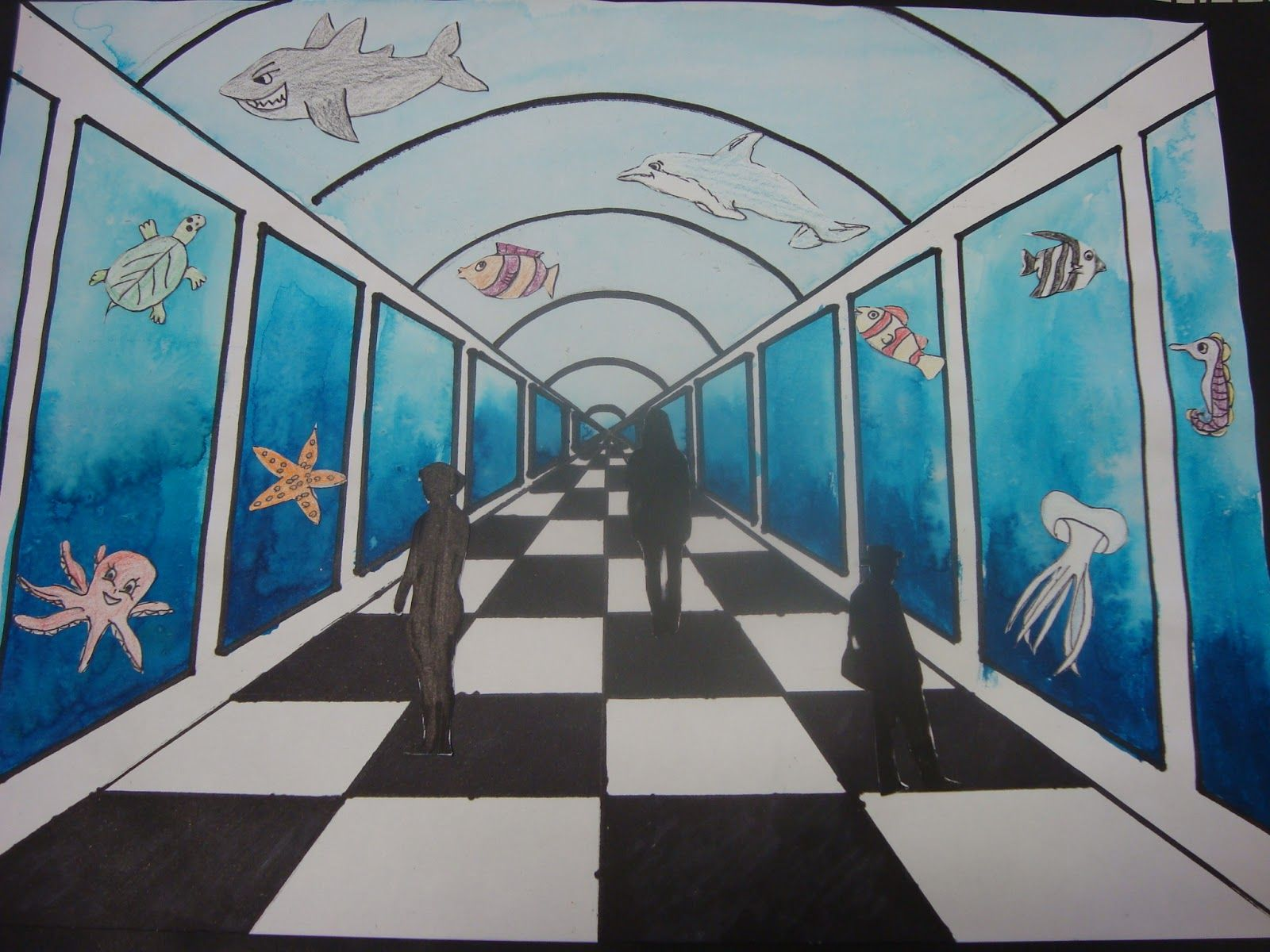 Once Upon An Art Room Perspective Aquariums Perspective