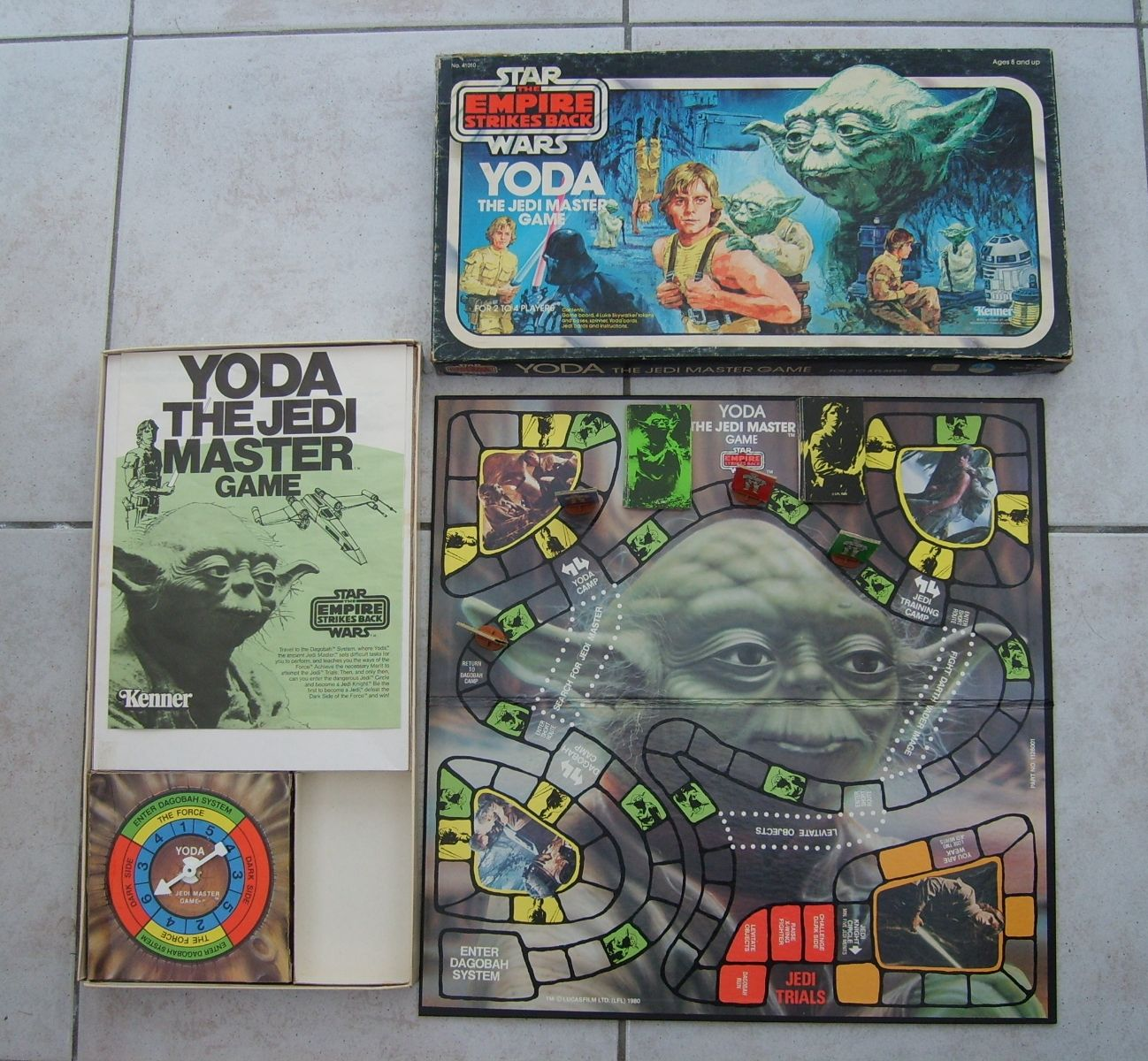 The Vintage Vault: 9 Classic Star Wars Board Games (With ...