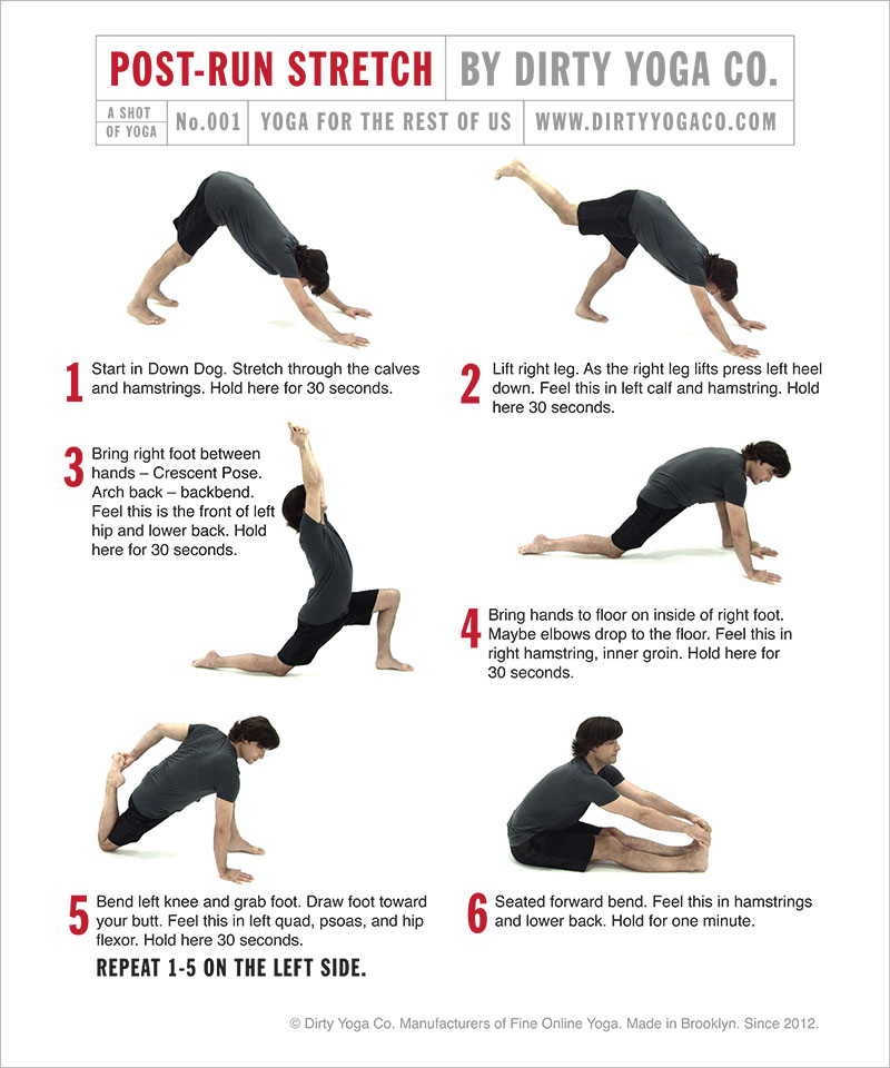 For All You Runners Out There A Post Run Stretch Workout StretchesYoga