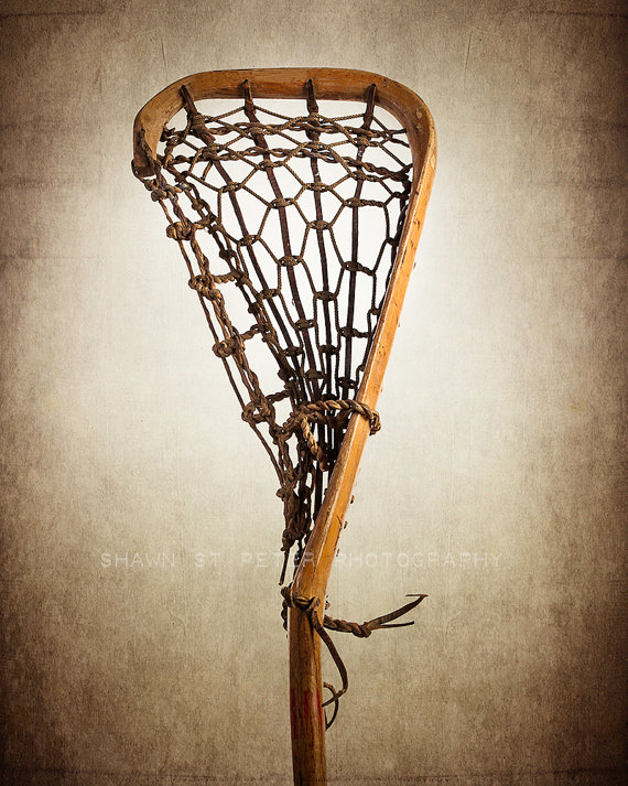 Vintage Lacrosse Stick Upright No.2 Photo Print, Decorating Ideas ...