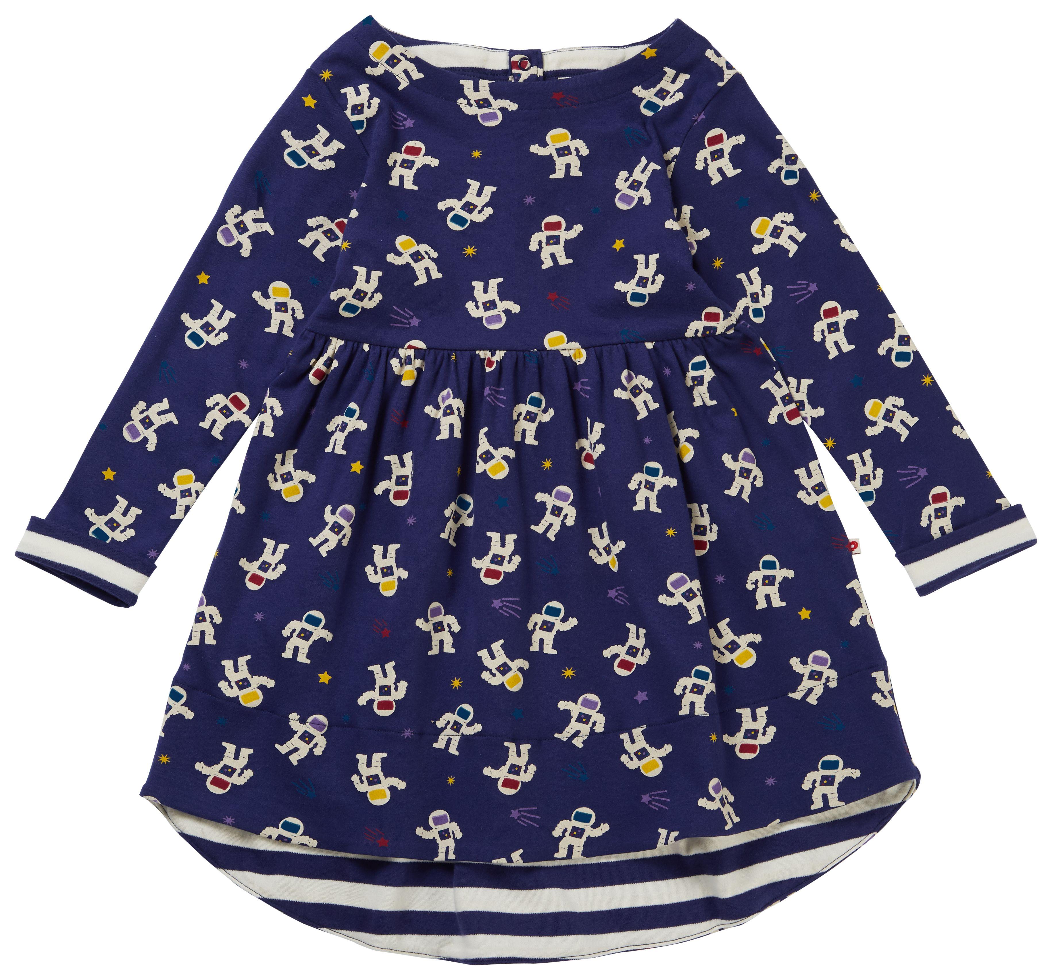 Kite Clothing Organic Cotton Baby Girl Body Dress Floral Print