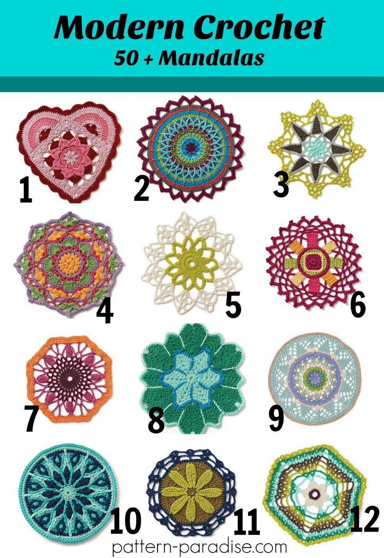 Friday Finds - Modern Crochet Mandalas