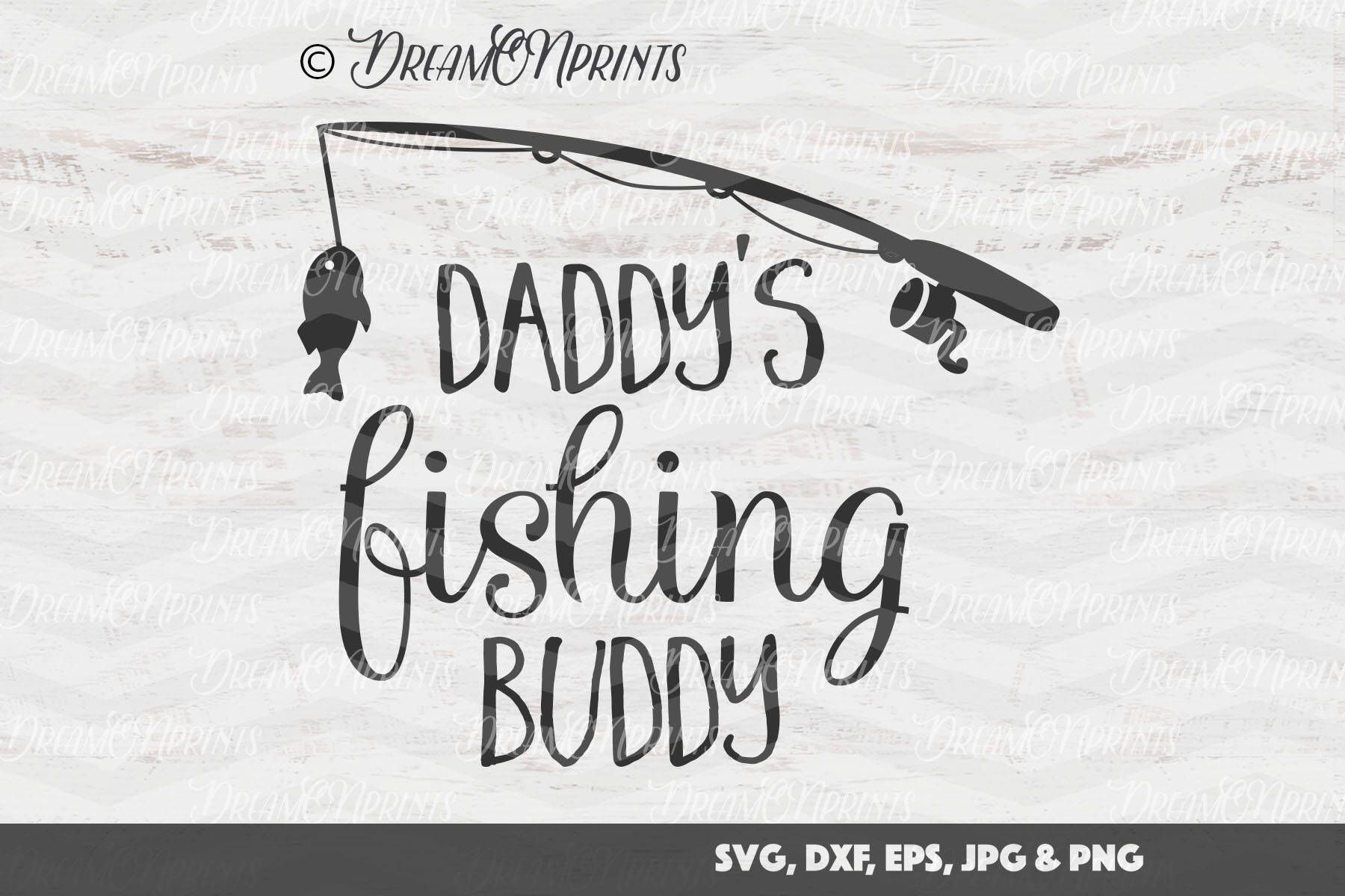 67324b2ed Daddy's Fishing Buddy SVG, Fish SVG, Fishing Pole Cut Files, Lake svg  Hunting SVG Camping svg for Cricut, Silhouette and More SVDP169