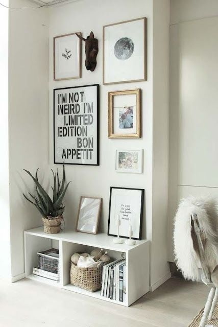 Ideas para decorar recibidores pequeños / Muebles | Blog - Muero de ...