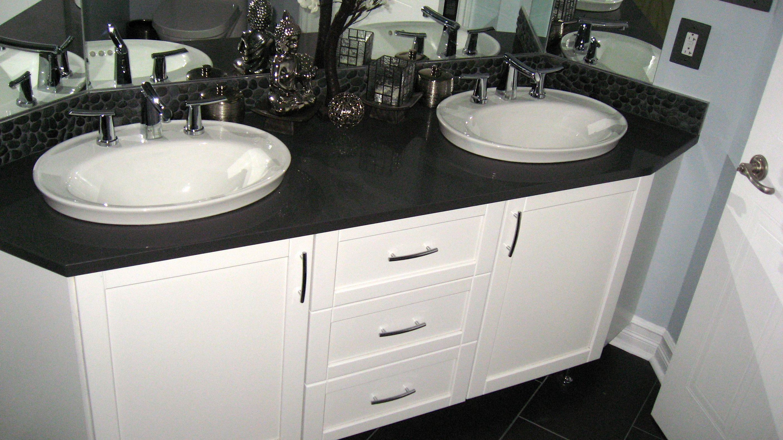 My Zen Bathroom! Kohler Serif sinks, American Standard Green Tea ...