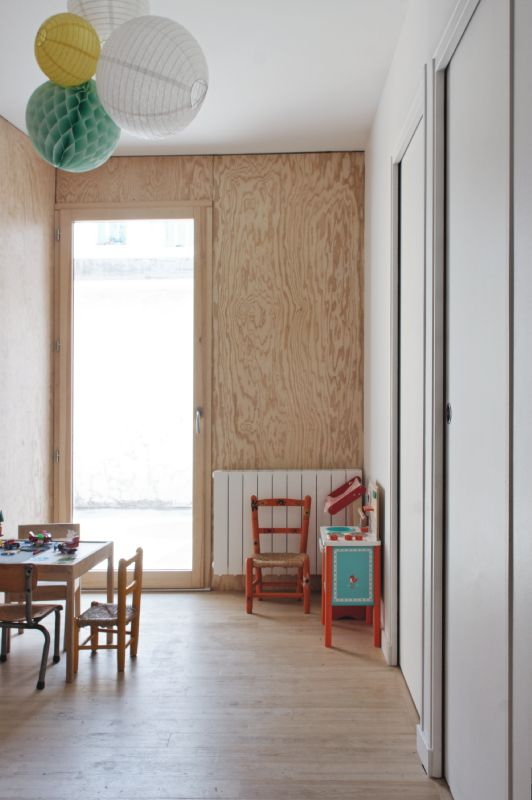 Snackarchitecture - Maison sous serre - salle de jeux