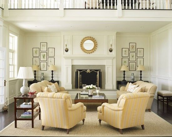 Country Houses - traditional - living room - new york - Austin