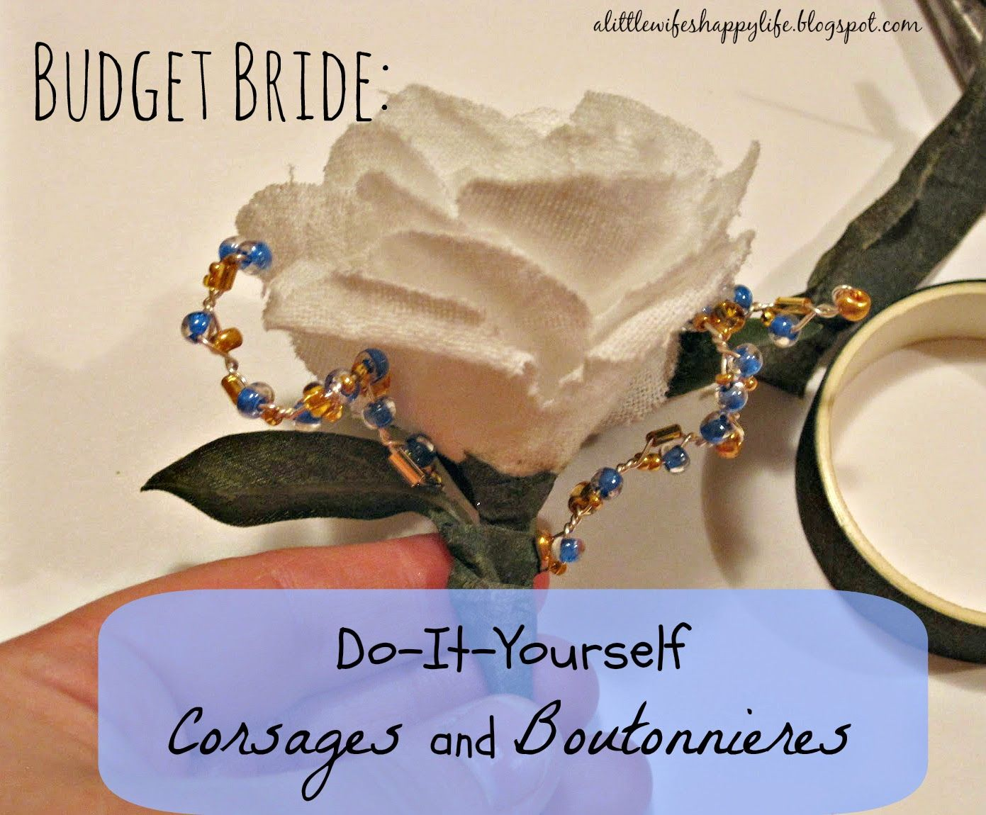 A Little Wife\'s Happy Life: Budget Bride- DIY Corsages and ...