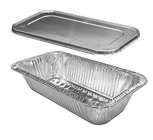 1 3 Thirdsize Trufit Medium 4 Lb Steam Table Aluminum Pan W Lid