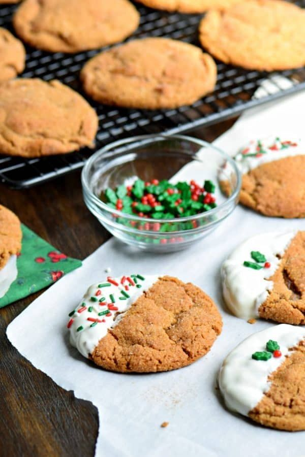 Soft And Chew Gingerdoodle Cookies A Cross Between A Gingerbread