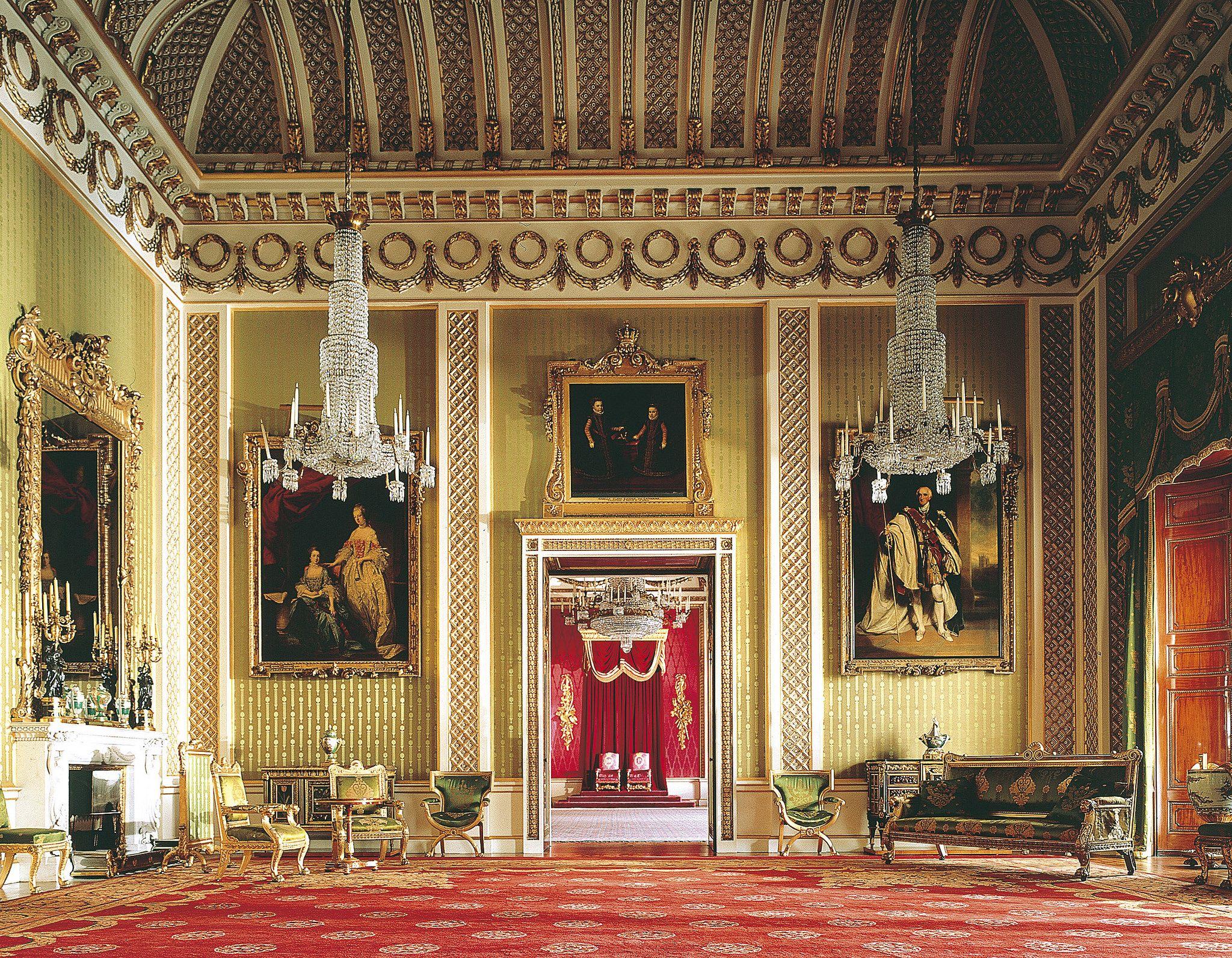 BP_GDR (Derry Moore) | Palace interior, Buckingham palace ...