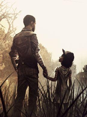 Telltales the walking dead season 1, Lee and Clementine.