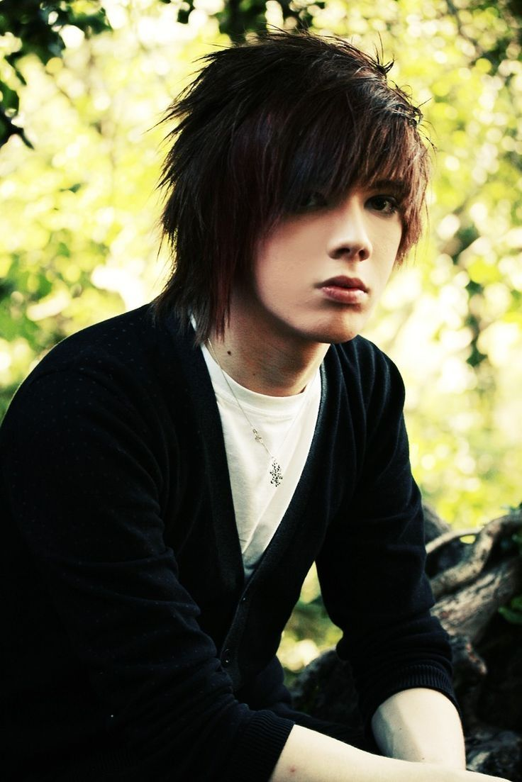 mens long hairstyles emo 10  Hot emo boys, Hot emo guys, Cute